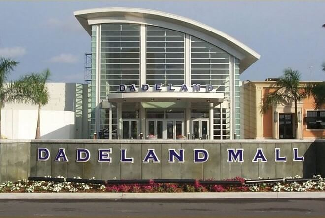 Walk to the Dadeland Mall